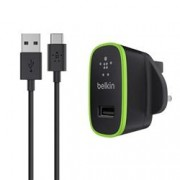 BELKIN MICRO CHARGER 2.1A UNIVERSALE CAVO USB A-C NERO