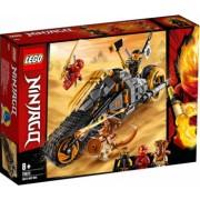 LEGO Ninjago Motocicleta de teren a lui Cole No. 70672