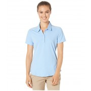 adidas Ultimate Short Sleeve Polo Glow Blue