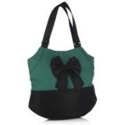 Home Heart Women Green Shoulder Bag
