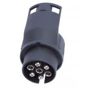 Adaptér konektoru zastrčky pro automobilový přívěs 7 až 13