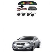 KunjZone Car Reverse Parking Sensor Black With LED Display Parking Sensor For Maruti Suzuki Kizashi