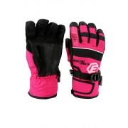 Finn dětské zimní rukavice C075 6-7 let růžová
