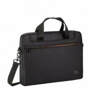 Notebook táska, 13,3, RIVACASE Regent 8023, fekete (NTRR8023B)