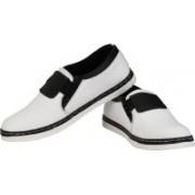 CK Shoes Canvas Shoes For Men(White)
