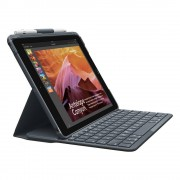 Logitech - iPad 9.7 (2017) Hoes - Bluetooth Keyboard Cover Slim Folio AZERTY Zwart