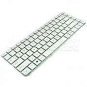 Tastatura Laptop Hp Compaq DV4-5110us alba + CADOU