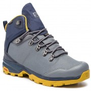 Туристически SALOMON - OutBack 500 Gtx GORE-TEX 406926 27 G0 Quiet Shade/Navy Blazer/Green Sulphur