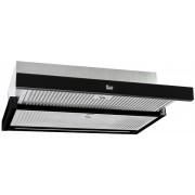 Hota Teka CNL 6415 Plus Black, 60 cm, telescopica, 5 trepte + 1, electronic, LED, 2 filtre, negru