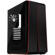 Carcasa Gaming SST-RL07B-G Red Line Midi Tower ATX TG Negru