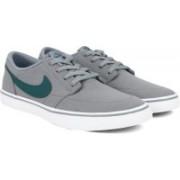 Nike SB PORTMORE II SOLAR CNVS Sneakers For Men(Grey)