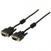 Valueline VLCP59000B300 VGA-VGA kábel 10m - fekete