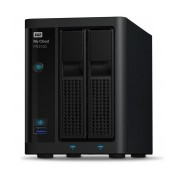 Western Digital My Cloud PR2100 NAS de 2 Bahias, 20TB, Intel Pentium N3710 1.60GHz, USB 3.0, para Mac/PC