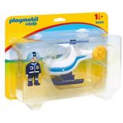 Playmobil 1.2.3, Elicopter de politie