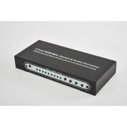 4x1 (4 input ports) HDMI Switch v1.4 UltraHD 4k with Toslink & 3.5mm Stereo Audio & Infrared remote