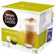 Capsule cafea Nescafé Dolce Gusto Cappuccino 186,4g 16 buc (8 cafea + 8 lapte)