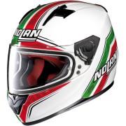 Nolan N64 SBK Casco Blanco/Verde/Rojo M (58)