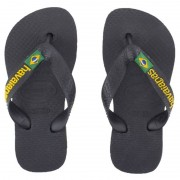 HavaianasBlack Brazilian flip-flops39/40 (UK 5)