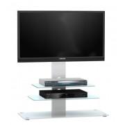 Glazen Tv meubel Ajax - Wit