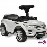vidaXL Land Rover 348 Dječji Autić s Glazbom Bijeli