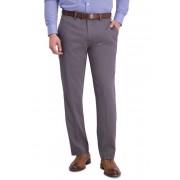Louis Raphael Micro Stripe Flat Front Slim Fit Dress Pants CHARCOAL