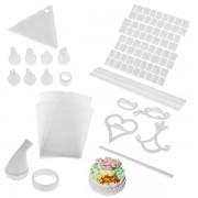 Set 100 piese pentru decorarea prajiturilor Cake Decorating Kit