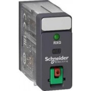 Releu,120Vac,5A,2C/O,Cu Ltb,Cu Led RXG22F7 - Schneider Electric