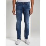 TOM TAILOR DENIM Jeans Culver skinny , Used Dark Stone Blue Denim, 34/34