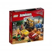CARRERA CRAZY 8 EN THUNDER HOLLOW LEGO 10744