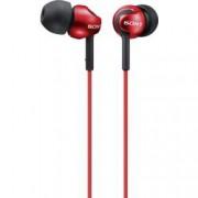 Sony Špuntová sluchátka Sony MDR-EX110LP MDREX110LPR.AE, červená