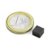 Magnet ferita bloc, 07x07x05 mm, putere 200 g