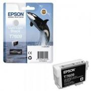 Мастилена касета Epson T7609 Light Light Black/Черен, C13T76094010