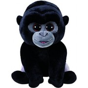 "Ty Beanie Babies BO - Silver Back Gorilla reg 6"" Regular"