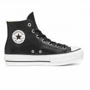 Converse CHUCK TAYLOR ALL STAR LIFT HI CLEAN Leather DONNA