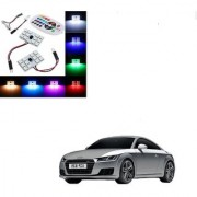 Auto Addict Car 12 LED RGB Roof Light with IR Remote Car Fancy Lights For Audi TT