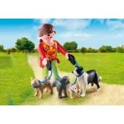 Playmobil Mujer con Perros