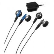 Slušalice audio HK-205, Set 2x Slušalice + splitter signala Hama
