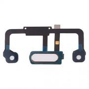 JUNXI Phone Cable Flexible con botón de Huella Digital para Huawei Mate 9 Pro (Negro) de Alta Calidad (Color : Blanco)