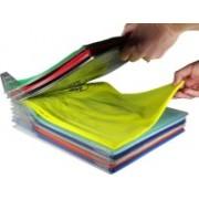 Plaudit NEW Closet Organizer and Shirt, T Shirt Folder and Paper Organizer | Regular Size, 10-Pack Closet Organizer(White)