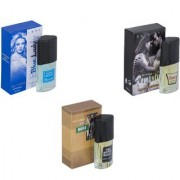 Skyedventures Set of 3 Blue Lady-Romantic-The Boss Perfume