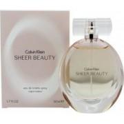 Calvin Klein Sheer Beauty Eau de Toilette 50ml Vaporizador