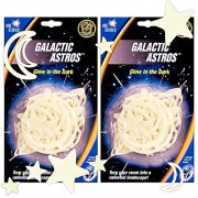 University Games Galactic Astros Super Set -- Planets, Stars, Meteors, Moon, Nebula and Comet Shapes (Space Room Decorations) (2 Pack)