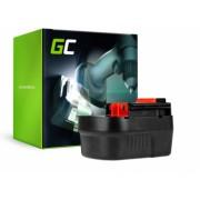 Acumulator pentru Black and Decker A12 A1712 HPB12 12V 2Ah Green Cell