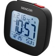 Ceas cu alarma Sencor Sdc 1200 B, Termometru, Calendar, Radio, Functie Snooze, Negru