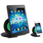 Techly Coppia Stand Universali da Tavolo per Tablet e Smartphone a Ventosa