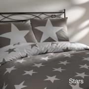 Dekbedovertrekset met een sterrenprint