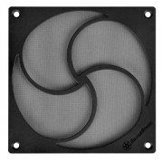 Filtru de praf Silverstone FF125 HiFlow - 120mm, rama magnetica, Black, SST-FF125B