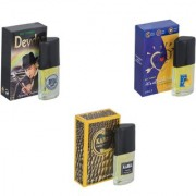 Skyedventures Set of 3 Devdas-ILU-Kabra Yellow Perfume