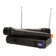 Set microfoane wireless profesionale WVNGR WG-005, 60 m