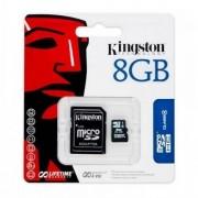 Kingston carte mémoire microsd sdhc 8 go ( classe 4 ) d'origine pour Doro Liberto 825